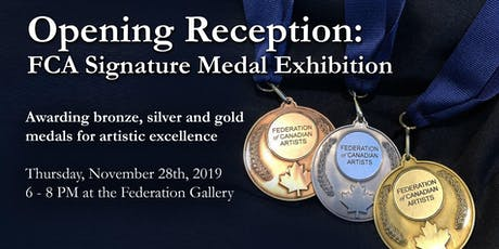 Opening Reception for the FCA Medal Exhibition tickets