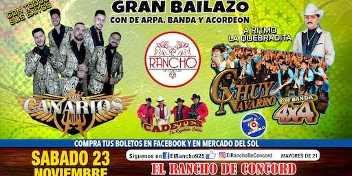 Los Canarios de Michoacan-Sabado 23 de Noviembre-El Rancho de Concord