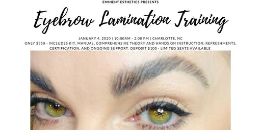 Brow Lamination Training and Certification