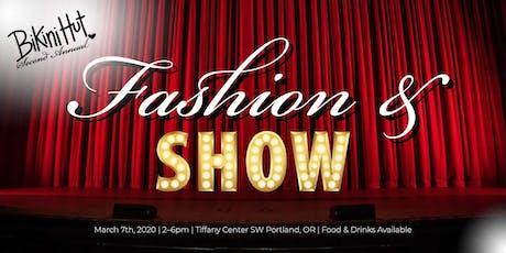 Fashion & SHOW tickets