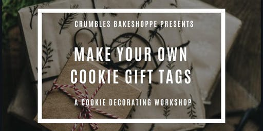 Cookie Decorating Workshop - Make Your Own Cookie Gift Tags