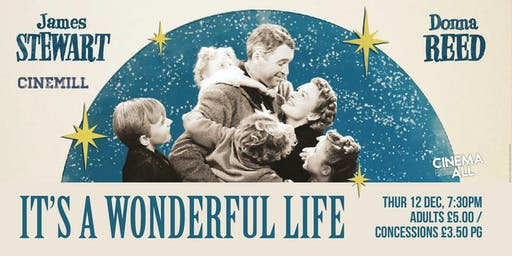 It's a Wonderful Life at Strathaven Town Mill