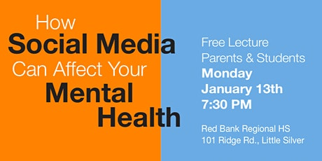 How Social Media Can Affect your Mental Health tickets
