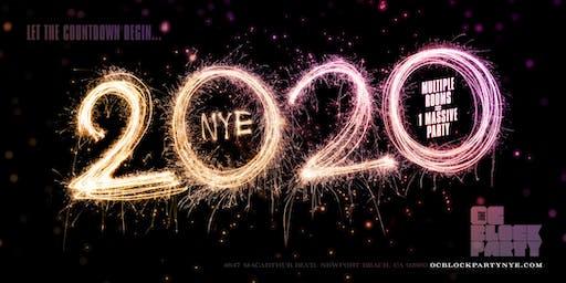 The NYE 2020 Orange County Block Party