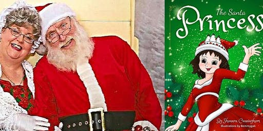 """Supper with Santa! Plus storytime with """"The Santa Princess""""!"""