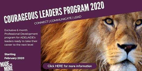 Courageous Leaders program tickets