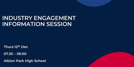 Industry Engagement Information Session tickets