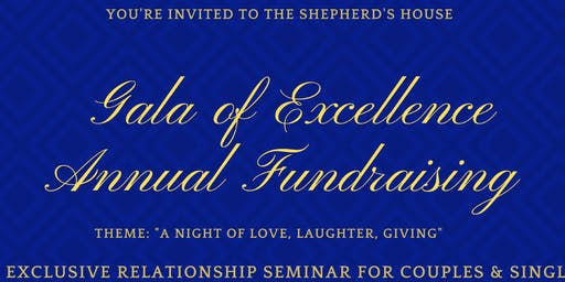 Annual Fundraising Gala of Excellence
