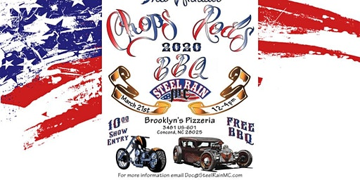3rd Annual Chops Rods & BBQ