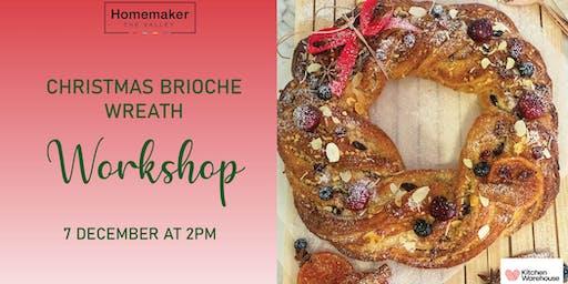 Christmas Brioche Wreath Workshop