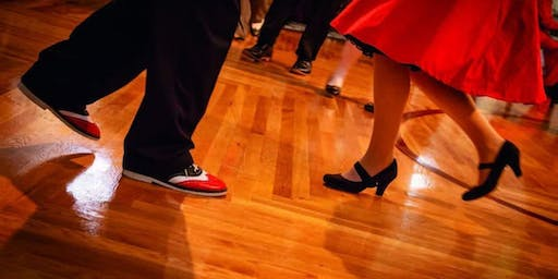 Oval Ballroom Swing Dance for Charity Benefit