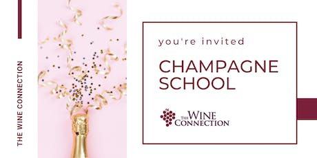 Champagne School at The Wine Connection tickets