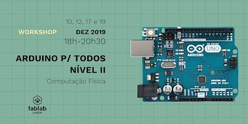 ARDUINO PARA TODOS NIVEL II / COMPUTAÇÃO FÍSICA