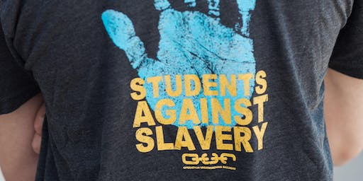 Students Against Slavery at Salt Lake Community College kick off event!