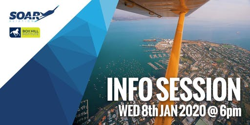 Soar Aviation Melbourne - 2020 Course Info Session
