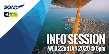 Soar Aviation Melbourne - 2020 Course Info Session tickets