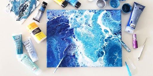 *SPECIALTY* Acrylic Paint Pouring Techniques Workshop