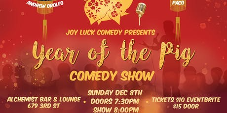 Year of the Pig Comedy Show tickets