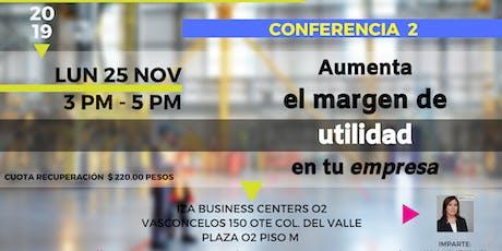 Ciclo conferencias MTI entradas