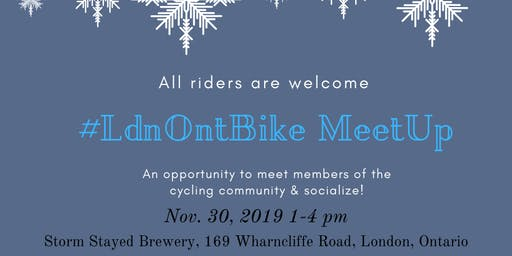 #Ldnont Bike Meetup