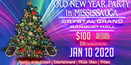 Old New Year Party in Mississauga tickets