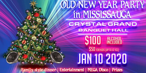 Old New Year Party in Mississauga