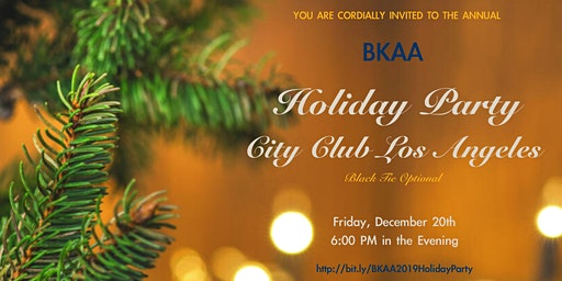 BKAA 2019 Holiday Party