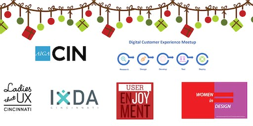 Cincy UX Meetup of the Meetups Holiday Happy Hour