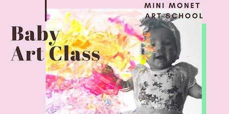MINI MONET: Baby Art Class tickets
