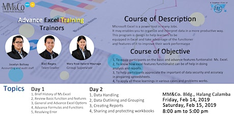 Advanced Excel - Day 1 tickets