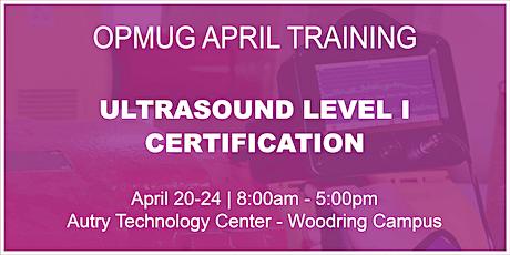 Ultrasound Level I Certification Training tickets