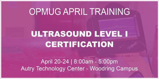 Ultrasound Level I Certification Training
