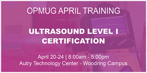 Ultrasound Level I Certification Training
