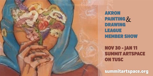 Artist Panel at Akron Painting and Drawing League Exhibit