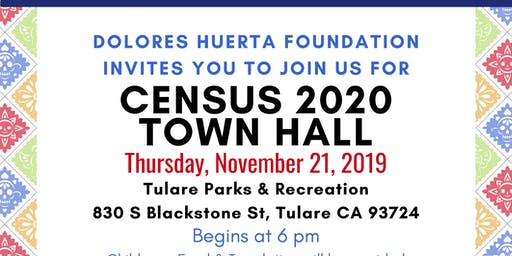 Tulare Census Town Hall 2020