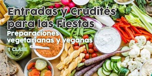 """TALLER GRATUITO """"Entradas y Crudités para las Fiestas"""""""