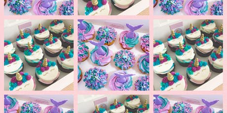 Mermaid and Unicorn Cupcake Decorating Class tickets
