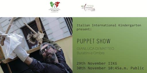 "Gianluca Di Matteo - Pulcinella Puppet Show: ""Le guarattelle"" - FREE EVENT"