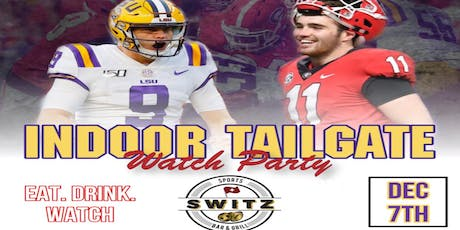 SEC CHAMPIONSHIP INDOOR TAILGATE WATCH PARTY tickets