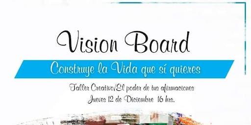 TALLER -  TABLERO DE VISIONES (VISION BOARD)
