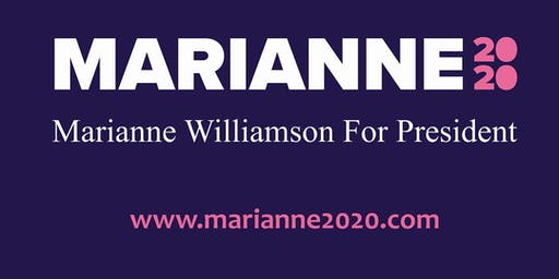 Marianne Williamson 2020 Presidential Candidate An Evening with Marianne