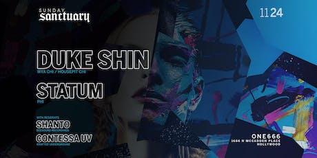Sunday Sanctuary presents: DUKE SHIN, SHANTO, STATUM tickets
