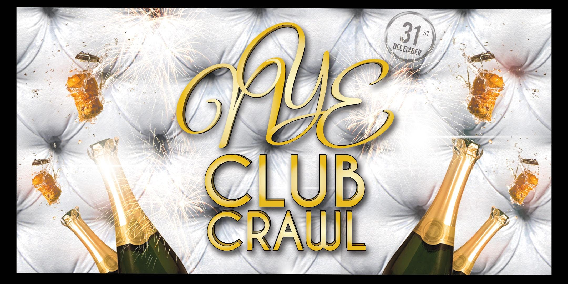 NYE 2020 San Diego Club Crawl to BASSMNT - 1 ticket / 3 NYE parties!