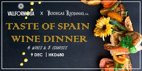 Taste of Spain Wine Dinner @ Kew Green Hotel tickets
