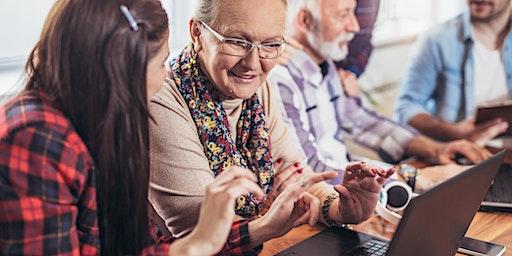 Tech savvy seniors - Technology classes in English language