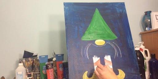 Facebook Live Paint Event Mr Elf