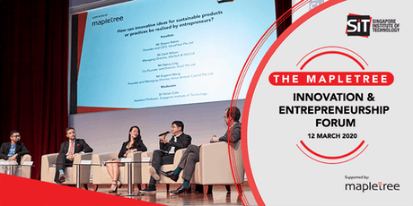 The Mapletree Innovation and Entrepreneurship Forum tickets