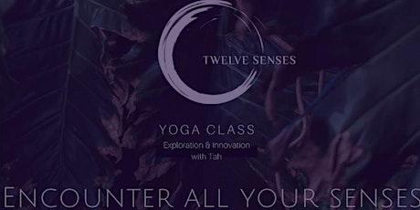 Twelve Senses Retreat -  All Levels Virtual Yoga Class tickets