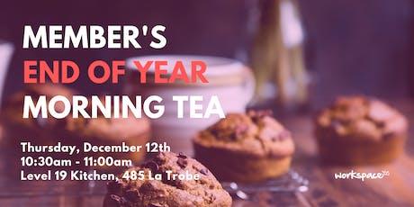 Member's End-of-Year Morning Tea - 485 La Trobe tickets