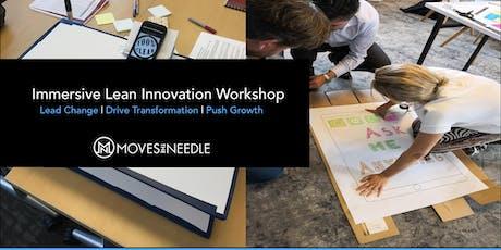 Immersive Lean Innovation Workshop: Lead change | Drive transformation tickets
